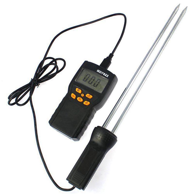 Digital Grain Moisture Meter Tester MD-7822