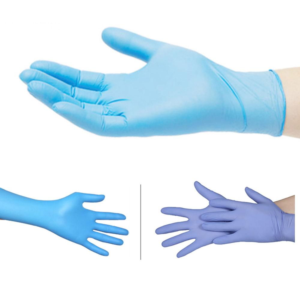 100pcs Laboratory Supplies Disposable Gloves Latex Nitrile Gloves Lab Consumables Hospital Single-use Protective Gloves