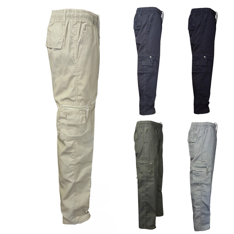 2019 Mens Camouflage Tactical Cargo Pants Men Joggers Boost Military Casual Cotton Pants Hip Hop Ribbon Male Army Trousers M-3Xl