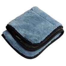 800gsm 45cmx38cm Microfiber Car Cleaning Cloths Car Care Microfibre Wax Polishing Detailing Towels