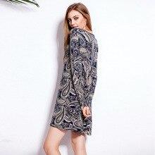 Ozhouzhan женское платье Европа и Америка Весна и лето осенняя одежда Стиль Хлопок Эластичность Женская длинная футболка Dr