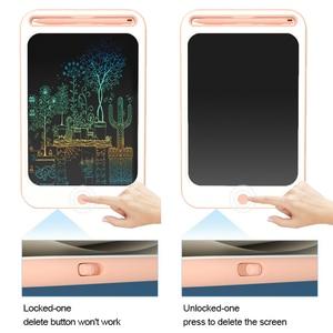 Image 3 - Beiens rysunek zabawki dla dzieci tablica do pisania LCD dzieci Tablet graficzny Scratch zabawka do malowania z anty erase Lock urodziny prezenty