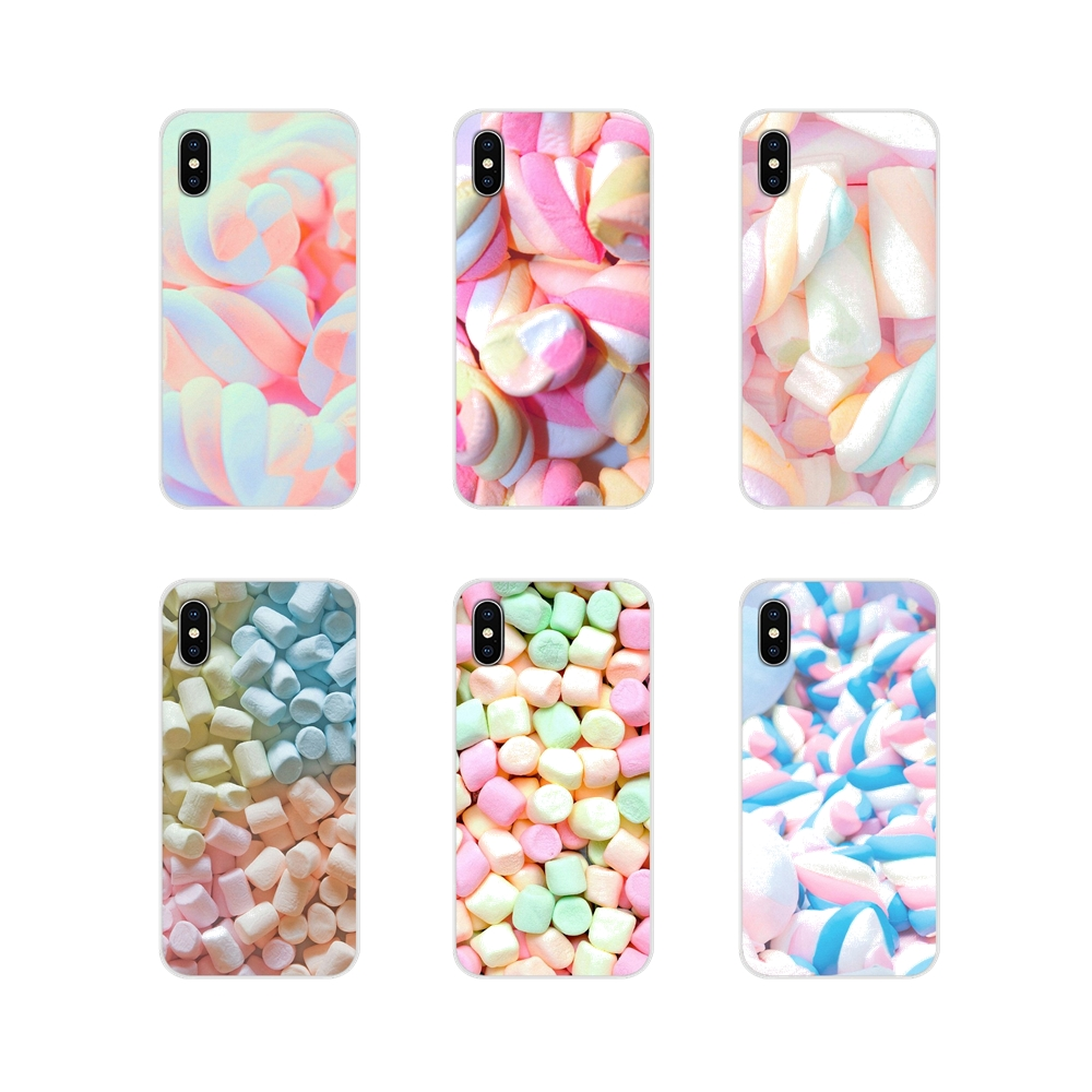 Accessories Phone Cases Covers Kawaii Cute Pastel Marshmallows For Motorola Moto X4 E4 E5 G5 G5S G6 Z Z2 Z3 G G2 G3 C Play Plus