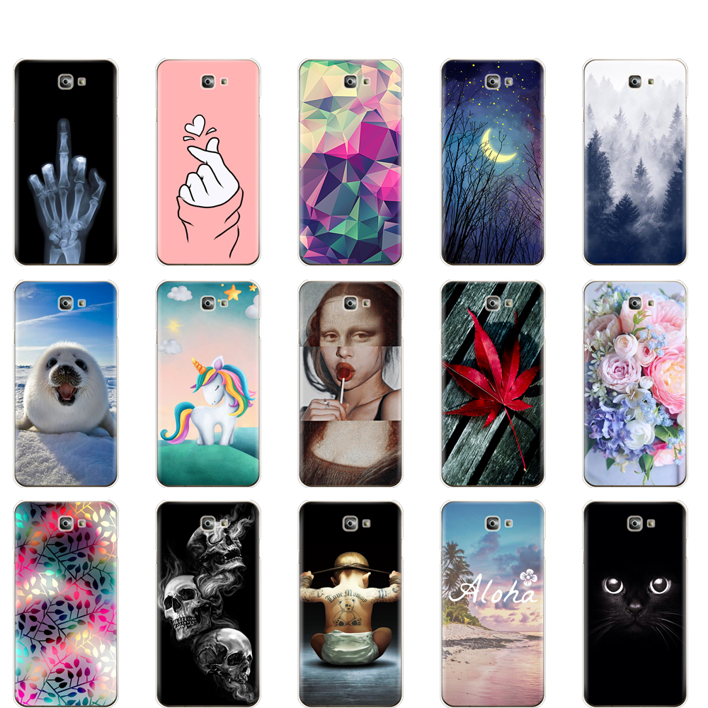 For Samsung J7 Prime 2 Case Silicone Soft TPU For Samsung Galaxy J7 Prime 2 phone Case J7 Prime2 Cover G611 G611F 2018 5.5 inch image