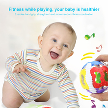 Toy Balls Baby hand grab rattles ball toys ABS soft glue light soft rubber 0-3 years old fitness soft bell crawling educational john miller d meiklejohn an old educational reformer dr andrew bell