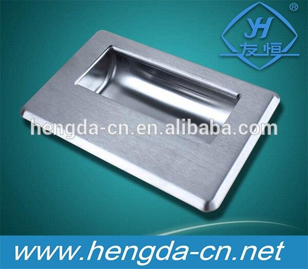 YH9945 poignées encastrées pour armoire coulissante industrielle
