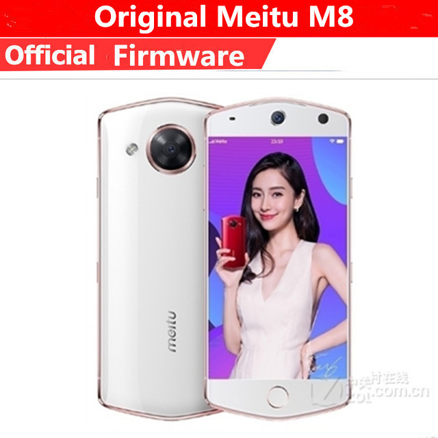 "DHL سريع تسليم Meitu M8 هاتف محمول MTK6797M عشاري النواة الروبوت 6.0 5.2 ""FHD 1920x1080 4GB Ram 64GB Rom 21.0MP بصمة 1"