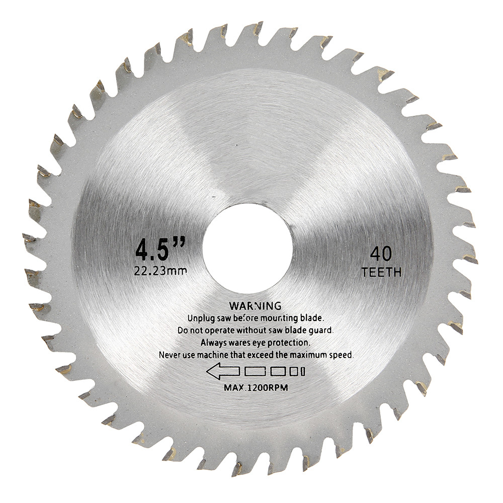 1pc 115mm 40 Teeth Saw Blades Circular Carbide Wood Cutter Saw Blade For Angle Grinder Saw Disc Cutting Wood Circular Saw Blades