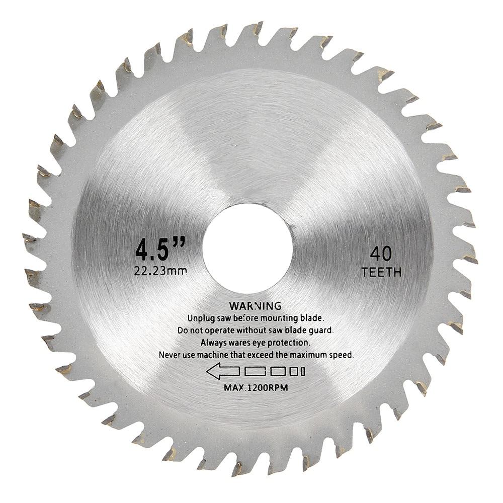 1pc 115mm 40 Teeth Saw Blades Circular Carbide Wood Cutter Saw Blade For Angle Grinder Saw Disc Cutting Wood Circular Saw Blades