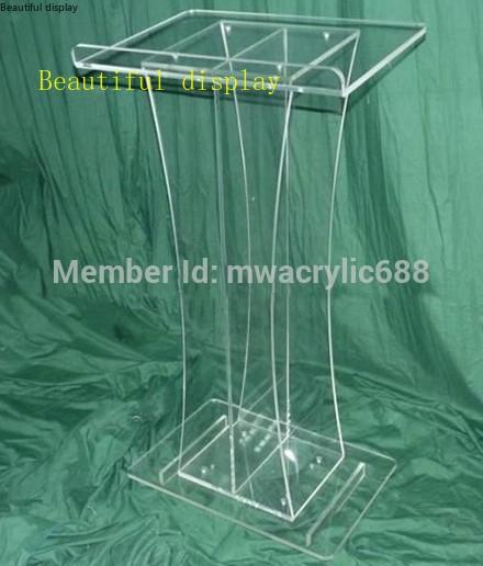 Pulpit Furniture Free Shipping Beautiful Simple Elegant Acrylic Podium Pulpit Lectern Acrylic Podium Plexiglass