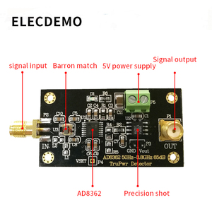 Image 3 - AD8362 Module 3.8GHZ RF Radio Frequency Detector Power Detection RMS detector Linear dB output Function demo board
