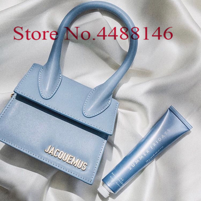 Jacquemus Mini Crossbody Bags For Women 2020 Luxury Purse Hand Bag Women Bags Designer Bags Small Shoulder Bag Sac A Main Femme