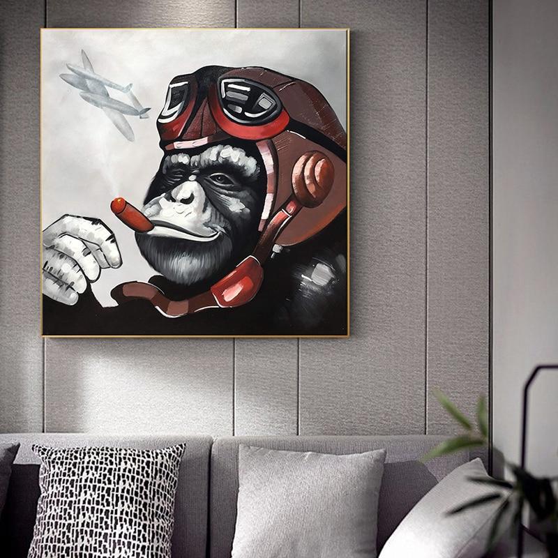 Gorilla Poster or Canvas