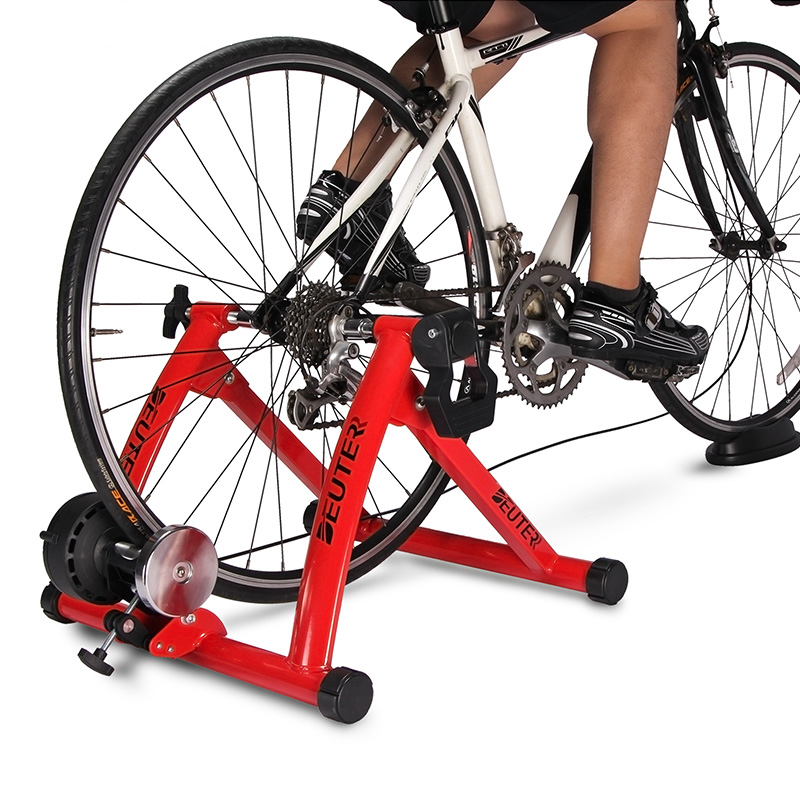 Magnetic Exercise Bike Bicycle Trainer Stand Resistance Indoor New With 7 level