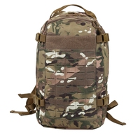 Multi Purpose Backpack Camouflage Hydration Backpack for Camping Trekking Mountaineering Outdoor Sports Hiking Tourist|Bicycle Bags & Panniers|   -