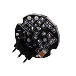 Image 2 - 10Pcs X SR602 Miniature Human Body Infrared Sensor Module Pyroelectric Probe Inductive Switch Sensor