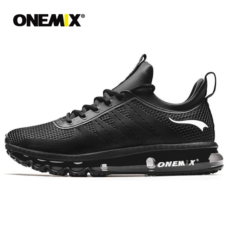 ONEMIX High Top Running Shoes For Men Shock Absorption Sports Height Increased Air Cushion Sneakers Outdoor Walking Jogging Shoe