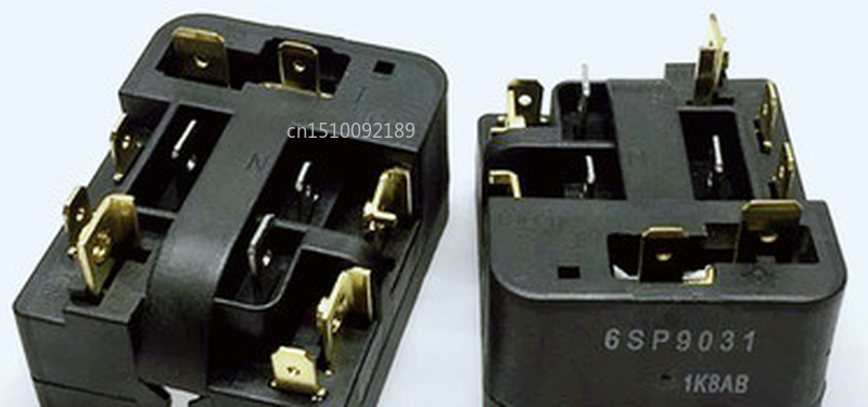 Free Shipping New Refrigerator Special Compressor Overheat Protector 6SP9031 9031 PTC Relay Starter Refrigerator Accessories