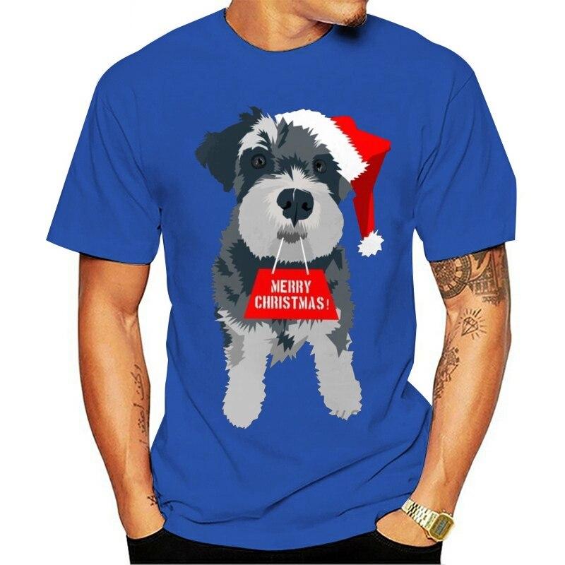 2021 moda de lazer 100% algodão o-pescoço camiseta para o divertimento de natal em miniatura