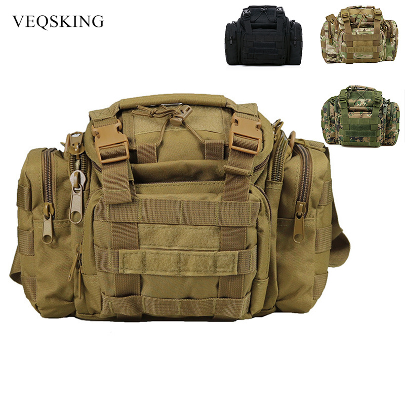 Multi-functional Army Tactical Military Army Molle Shoulder Bag Hiking Pack