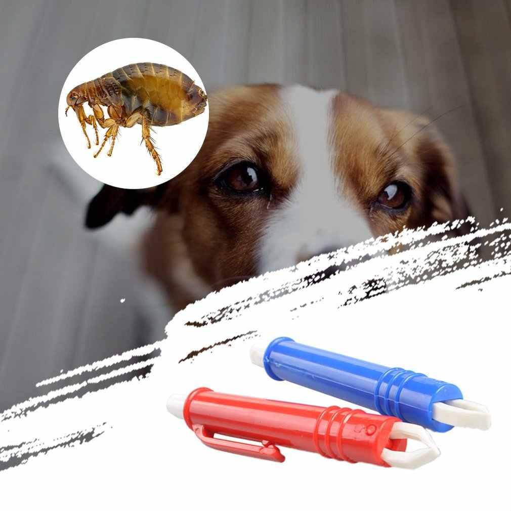 ペットのノミクリップピンセット動物 Acari ダニダニリムーバー犬猫グルーミングクリーンツールホット販売市場動向