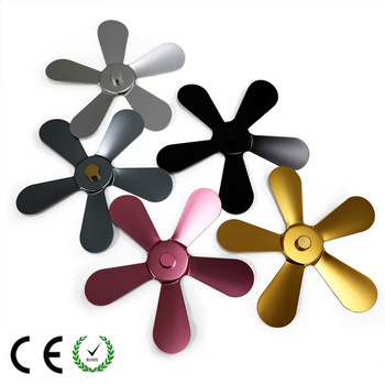 Cooling and ventilating parts Fireplace parts Fireplace fan fittings Aluminum alloy fan blades 5 leaves 1pcs 4 blades plastic fan blade for hair dryer fan parts