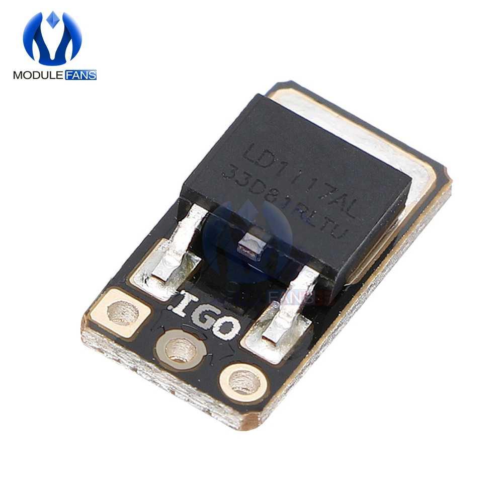 LD1117-3.3V DC-DC abaisseur convertisseur Buck Module d'alimentation fixe carte régulateur de tension