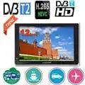 LEADSTAR Mini Tv portátil de 12 pulgadas compatible con DVB T/T2/H265/Hevc Dolby Ac3 1280*800 tarjeta TF para el hogar/coche con cargador de coche