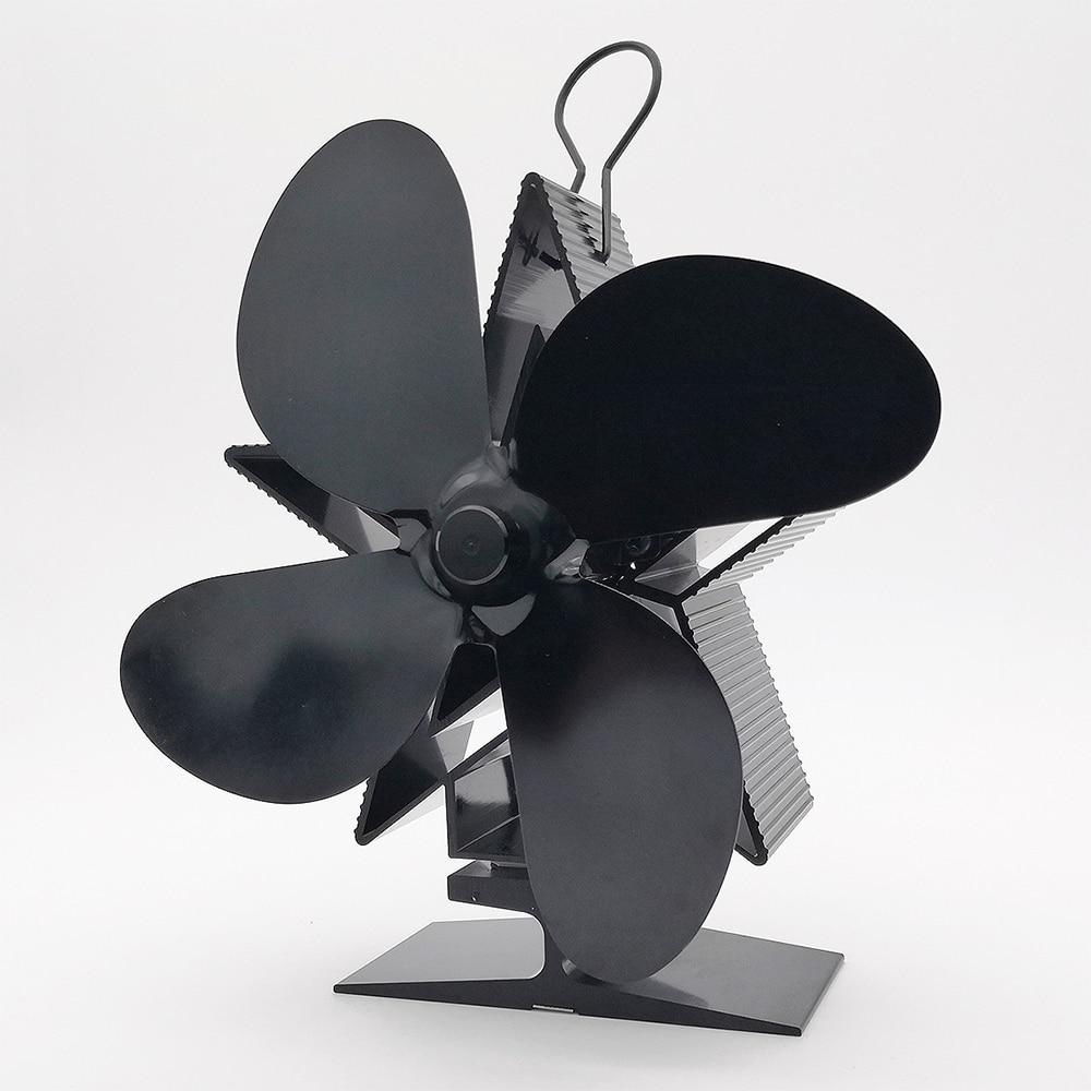 black-stove-fan-fireplace-fan-heat-powered-komin-wood-burner-4-blade-eco-fan-friendly-quiet-home-efficient-heat-distribution-new