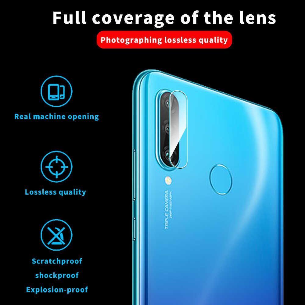 3 in 1 tam kapak temperli cam için Huawei P30 P40 Lite P20 Pro P akıllı Z 2019 ekran koruyucu cam onur 20 10 10i 8X