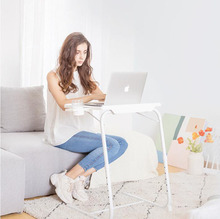 Plastic lazy table lift folding laptop table sofa side table simple bed desk bedroom home furniture small table
