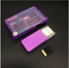 2 takım için GameBoy Advance oyun kartı oyun kartuşu için GBA SP çoklu oyunlar ile orijinal SD kart