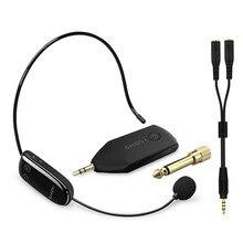 SHIDU UHF Wireless Mikrofon Headset Handheld Mic System Tragbare 3.5/6,5mm Stecker Empfänger Für Stimme Verstärker Lautsprecher Lehrer