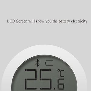 Image 4 - Higrotermógrafo Bluetooth Xiaomi Mijia, higrómetro de alta sensibilidad, termómetro, pantalla LCD, Sensor inteligente de humedad y temperatura para el hogar