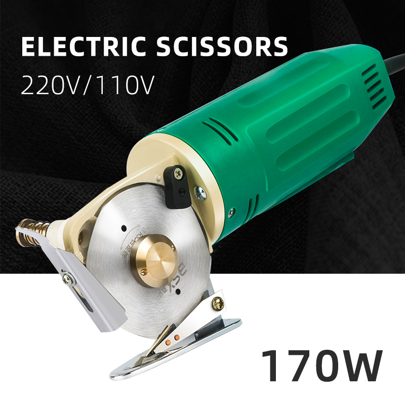 170W Wood Router Electric Cloth Knife 220V 110V Fabric Cutting Tools Handheld Leather Blade Portable Power Tools Cutting Saws