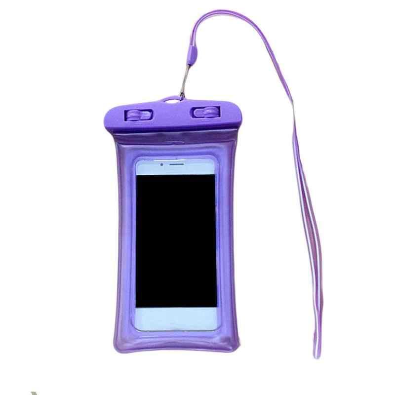 Nieuwe waterdichte zwemmen tas vingerafdruk unlock kleurrijke duiken telefoon waterzak mobiele beach air drijvende zak outdoor P5A0