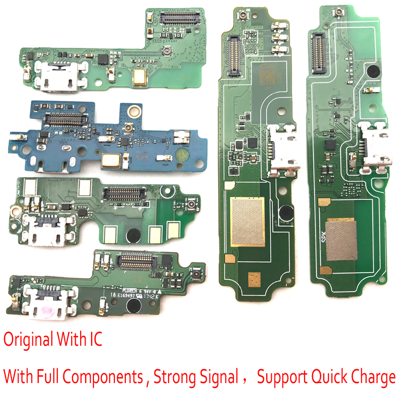 New USB Charging Port Dock Connector Board Flex Ribbon Cable For Xiaomi Redmi 3 3S 4X 4A 5 5A 4 Pro
