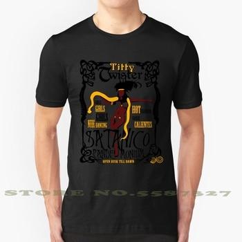 Desde El atardecer Hasta El Amanecer: camiseta Vintage de moda Titty Twister,...