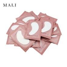 20/50 пар бумажные накладки для наращивания ресниц привитые глазные наклейки для ресниц под глазные накладки бумажные накладки для глаз наклейки