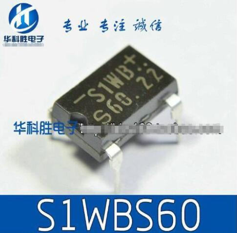10pcs/lot S1WBS60 S1WB60 S1WB DIP-4 600V 41A In Stock