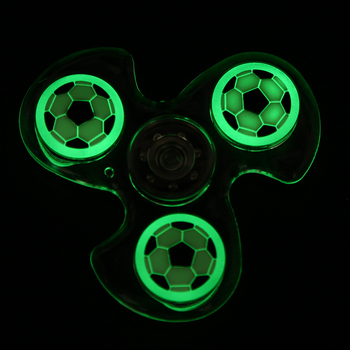 Luminous Fidget Spinner Decompression Toy Noctilucous New Style Hand Finger Spinner for Autism and ADHD Anxiety Stress Gift Toy wholesale price relieves glow in the dark fidget spinner hand spinner and fidget toy marble for everyone
