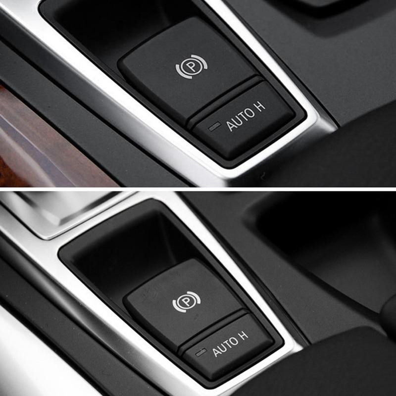 Автомобильный стояночный тормоз ручной тормоз P кнопка переключатель Крышка для BMW X5 E70 2006-2013 X6 E71 2008-2014