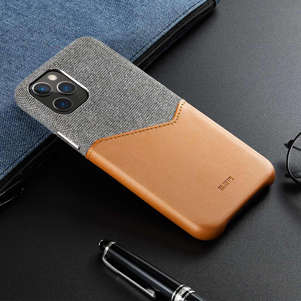 H8e2a7110deb24cb1b0324842095a3bfaW ESR Case for iPhone 11 Pro XR XS Max Cover Brand Luxury Leather Card Slot Shockproof Business Wallet Case for iPhone 2019 iphon