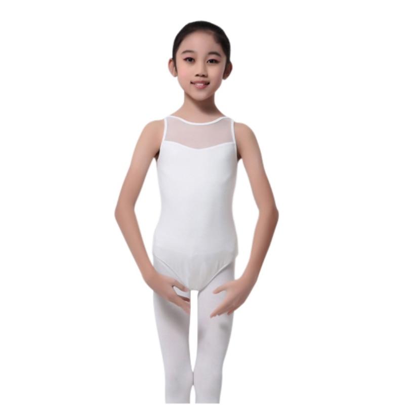 New Children Vestidos Solid Large Size Dress Party Dresses Kids Girl Dance Leotard Bodysuit Ballet Dress Costume Tops HOT