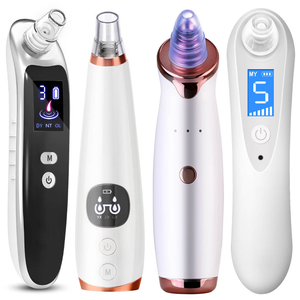 Drop Shipping Blackhead Acne Remover Vacuum Machine Black Head Face Skin Care Cleaner Pore Nose Suction Facial Removal Extractor