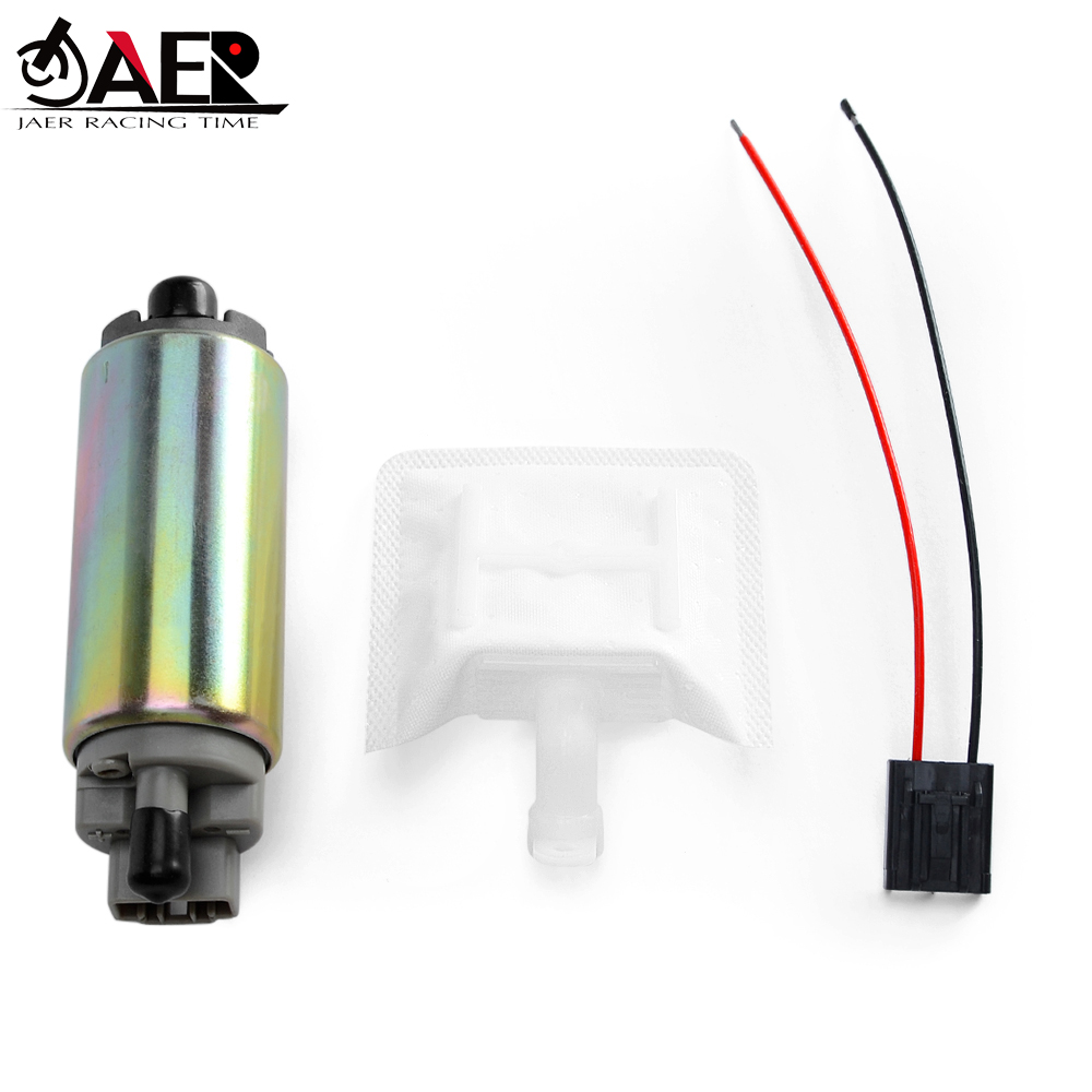 JAER High Flow Motorcycle Gasoline Fuel Pump for Suzuki 15110-14G00 VL1500 Boulevard C90 2014-2015 AN250 <font><b>AN400</b></font> Burgman 250 400 image