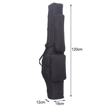 Tactical 120cm Double-Layer Gun Bag Military Waterproof Rifle Pouch Holster Airsoft Gun Padded Case Carry  Hunting Accessories 5