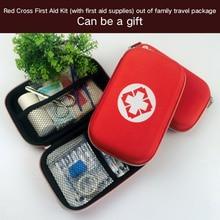 Portable Camping Waterproof EVA First Aid Kit Emergency Medical Bag Waterproof Car kits bag Outdoor Travel Survival kit