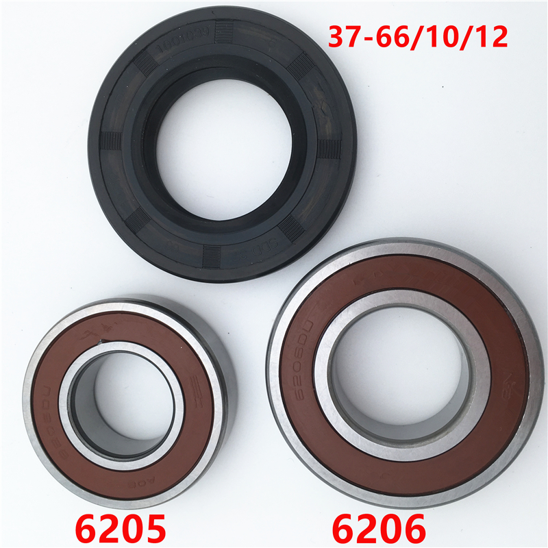 Drum Washing Machine Water Oil Seal SDD37 6610/12 Bearing 6205/6206 Accessories