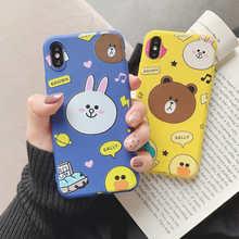 Cartoon bear rabbit Soft Case For Vivo Z5X Y17 Y3 V11i V15 S1 Y95 Y55 X27 Y97 Y85 Y93 Y83 Y79 Y75 Y71 Y67 Y66 X9 X9S X20 Plus candy color soft tpu phone case for vivo z5x v11i v15 y7s y3 y17 s1 y95 u1 y55 x27 y97 y85 v9 y93 y83 y75 y79 y71 y67 y66 x9 x9s x20 v7 plus silicon cover